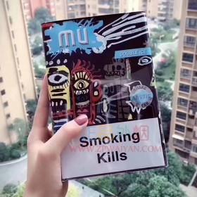 正品外烟零售批发代购网上买外烟MU欧盟薄荷爆珠方盒装