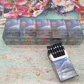 网上买外烟BLACK DEVIL黑魔鬼蓝莓爆珠正品代购哪里买外烟网