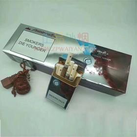 网上买外烟CAMEL骆驼蓝莓薄荷双爆珠正品代购哪里买外烟网