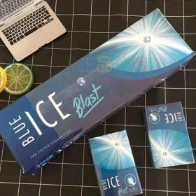 网上买外烟ICE冰蓝薄荷爆珠正品代购哪里买外烟网
