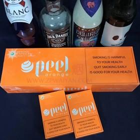 正品外烟零售批发代购网上买外烟PEEL百乐橙子爆珠